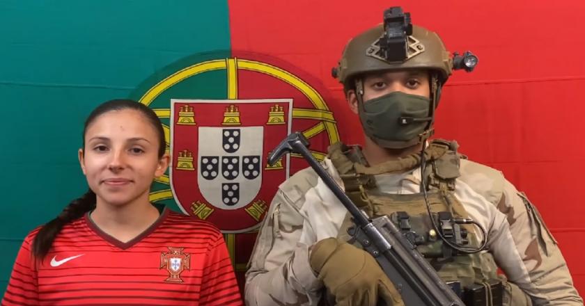 Militares portugueses no Afeganistão enviar arrepiante vídeo de apoio à Seleção (VÍDEO)