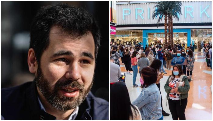 """Guilherme Duarte sobre pessoas na fila dos centros comerciais: """"Pessoas burras…"""""""