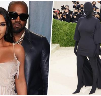 Look de Kim Kardashian no Met Gala 2021 vira meme nas redes sociais