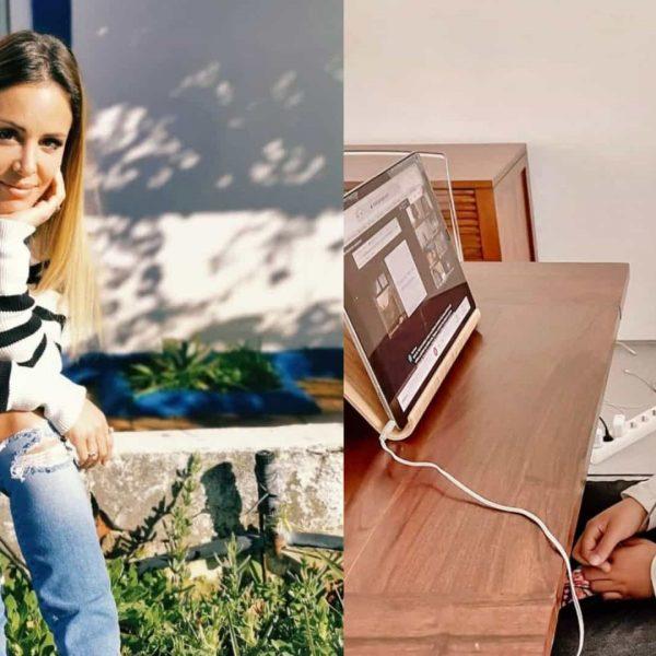 """Mariana Patrocínio 'revoltada' com escola da filha: """"200 crianças em casa"""""""